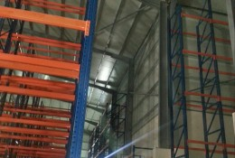 Raw material storage area (950 sq.m,1350 pallets)